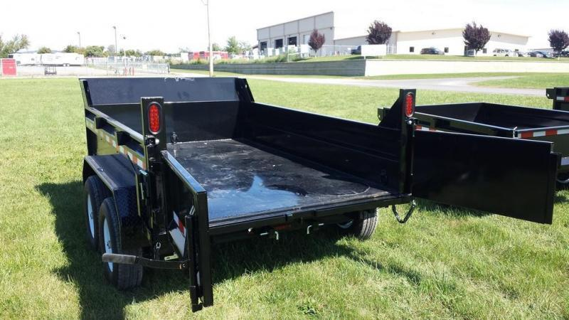 2019 Sure-Trac 6x10 10K Low Profile Dump Trailer