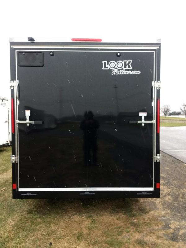 2019 Look Trailers 7x12 Element SE Enclosed Cargo Trailer