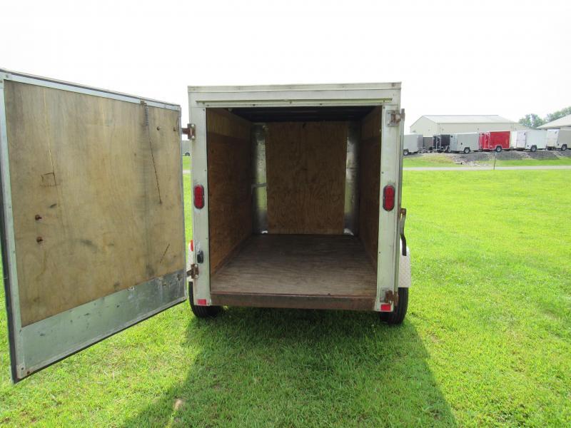 2011 Homesteader 5x8 Enclosed Cargo Trailer