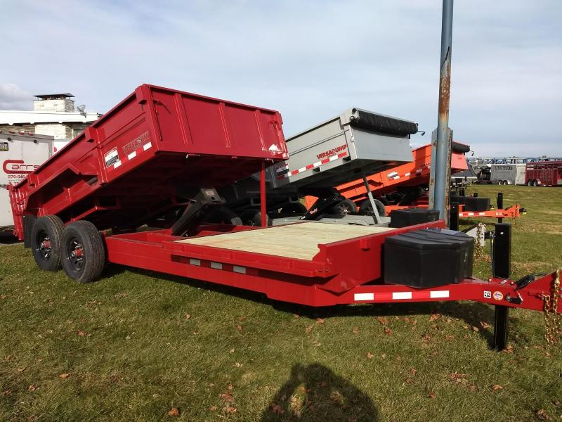 2019 Midsota 18 Dump/Flat Bed Combo Equipment Trailer in Ashburn, VA