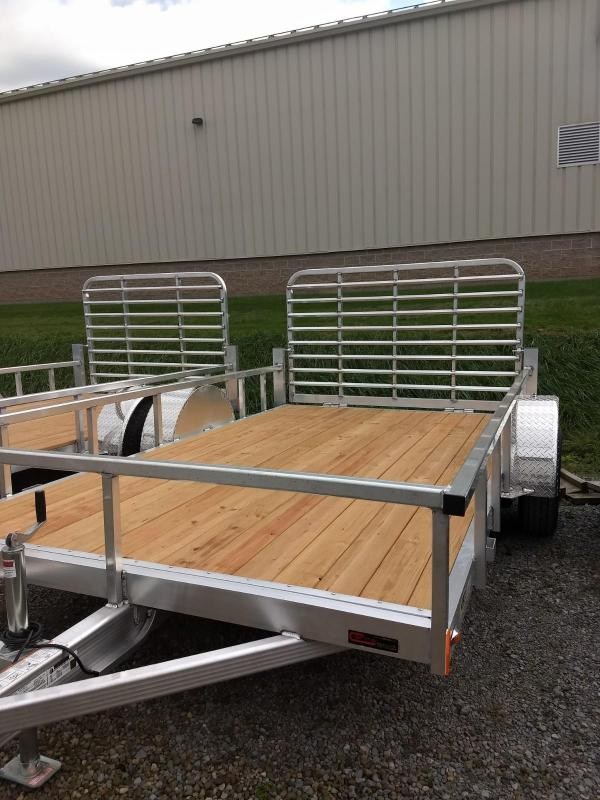 2019 Legend Manufacturing 7x12 Aluminum Utility Trailer in Ashburn, VA