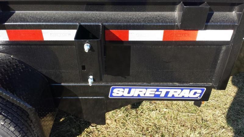 2019 Sure-Trac 5x10 Low Profile Dump Trailer