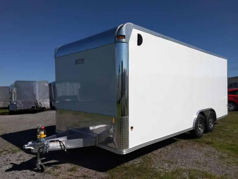 2018 EZ Hauler 8x20 10K Aluminum Car / Racing Trailer
