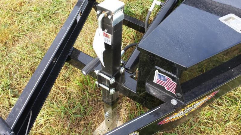 2016 H and H Trailer 7x18 Powered Tilt Deck Car / Racing Trailer