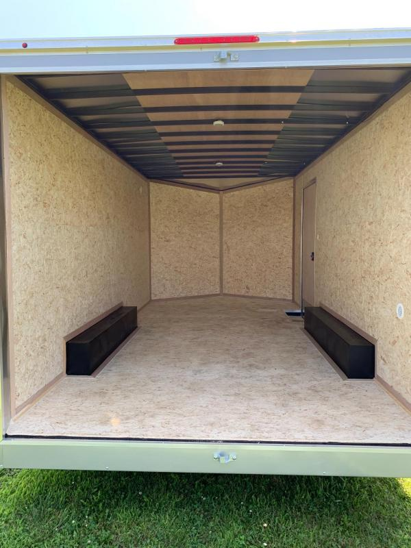 2020 Look Trailers 8.5x16 Element Enclosed Cargo Trailer