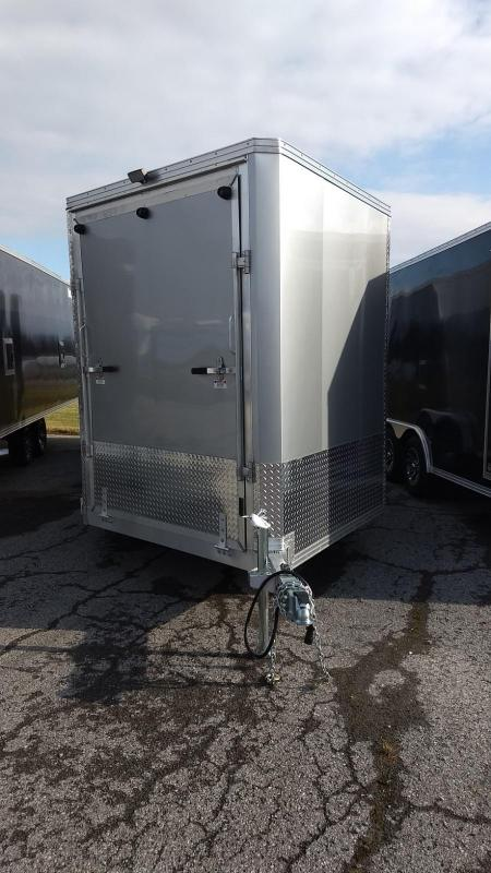 2019 Mission EZES 7.5x24+4 Enclosed Snowmobile Trailer in Ashburn, VA