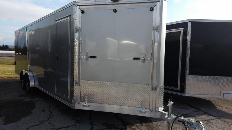 2019 Mission EZES 7.5x24+4 Enclosed Snowmobile Trailer