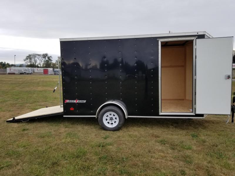 2018 Wells Cargo 7x12 Fast Trac 3.5k Enclosed Cargo Trailer