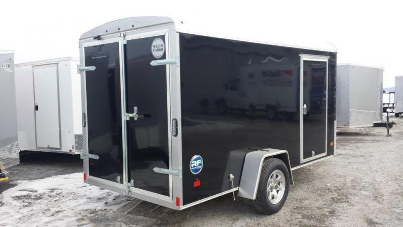 2017 wells cargo 6x12 road force enclosed cargo trailer new and used trailers and vehicle. Black Bedroom Furniture Sets. Home Design Ideas