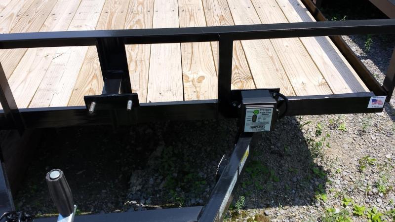 2019 Holmes 6-4x16 Open Side 7k Utility Trailer