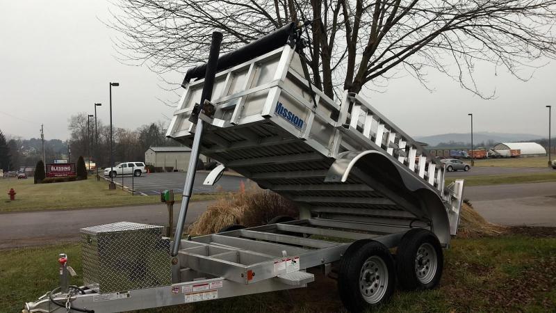 2019 Mission MODP 6x10 Aluminum 6K Dump Trailer in Ashburn, VA