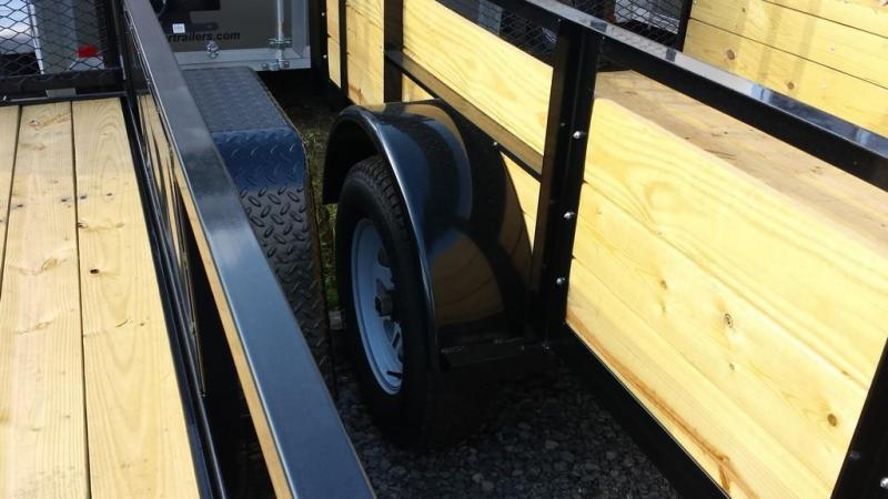 2018 Holmes 5x8 Board Side Utility Trailer