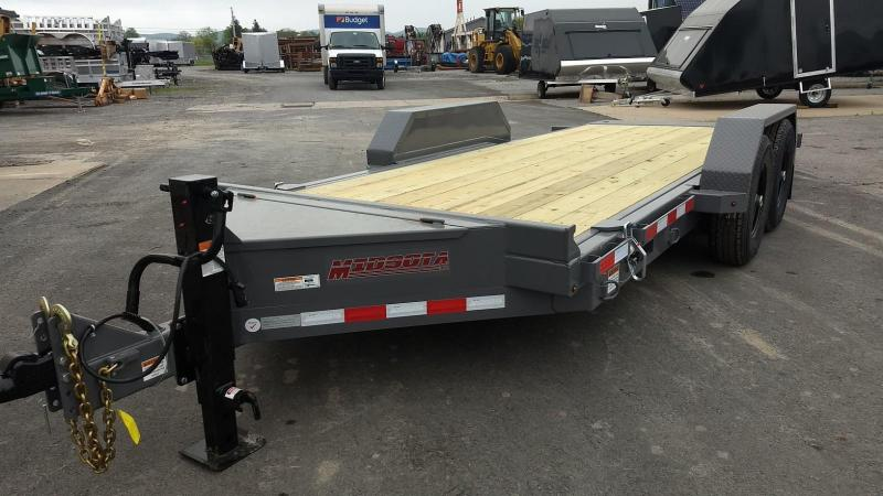 2019 Midsota 7x18 15.4K tilt deck Equipment Trailer