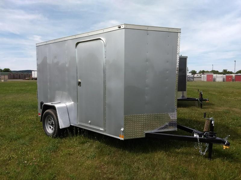 2018 Wells Cargo 300 Series 6x10 WITH BRAKES Enclosed Cargo Trailer