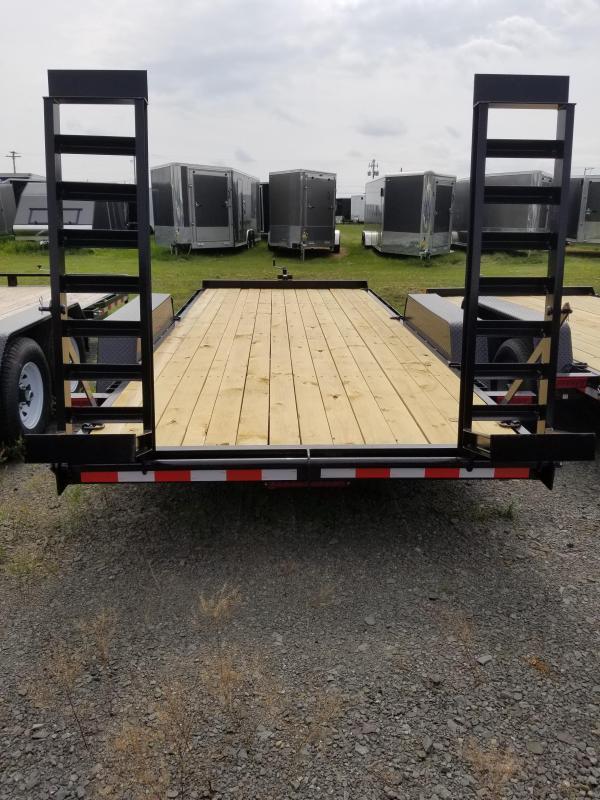 2019 Holmes 6-10x18 10K Equipment Hauler Equipment Trailer