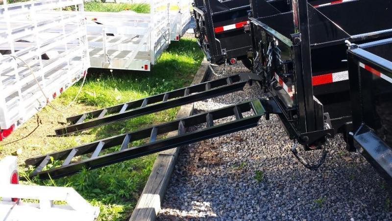 2019 Sure-Trac 7x14 Low Profile Dump Trailer
