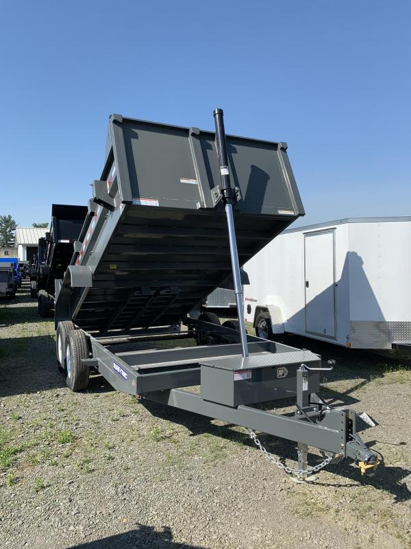 2019 Sure-Trac 7x14 Low Profile Telescopic Ram Dump Trailer