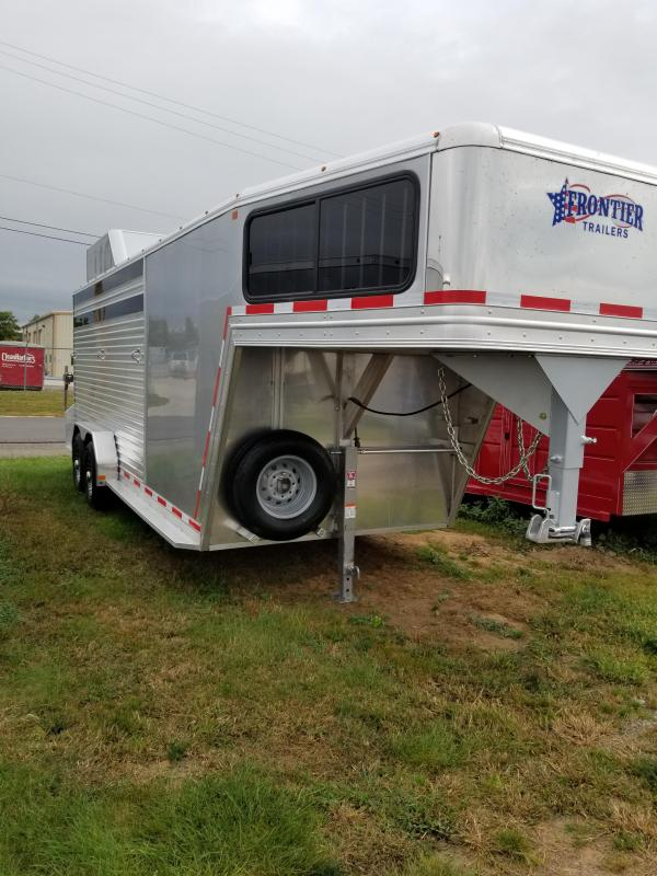 2018 Frontier 20' 14K Livestock Combo Trailer in Ashburn, VA