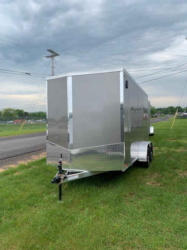 2019 Legend Manufacturing 7x14 all aluminum Enclosed Cargo Trailer