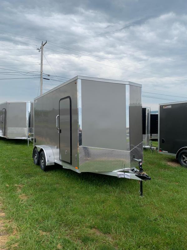 2019 Legend Manufacturing 7x14 all aluminum Enclosed Cargo Trailer