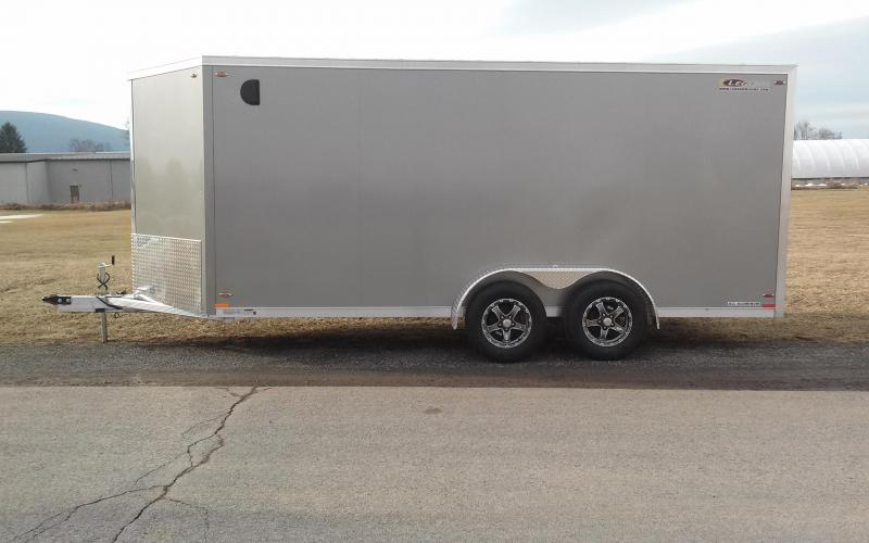 2018 Legend Manufacturing 7x19 all aluminum Enclosed Cargo Trailer