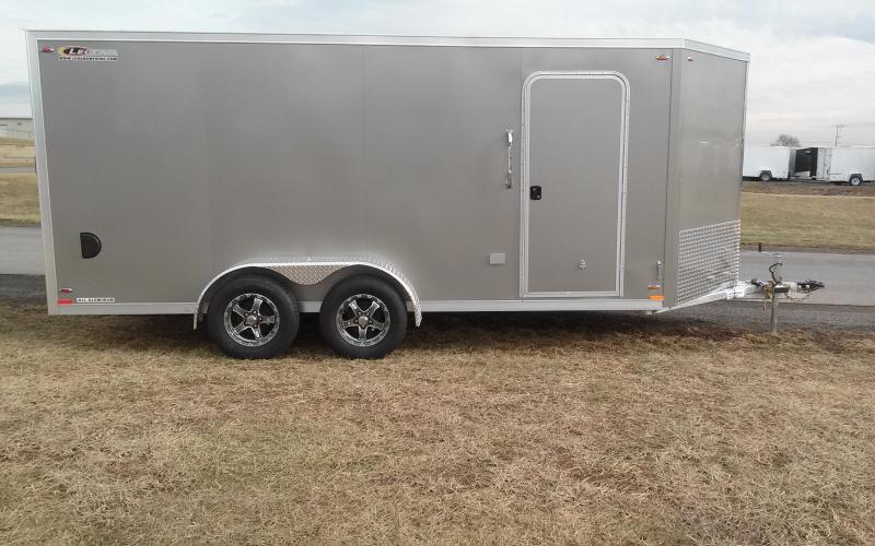 2018 Legend Manufacturing 7x19 all aluminum Enclosed Cargo Trailer