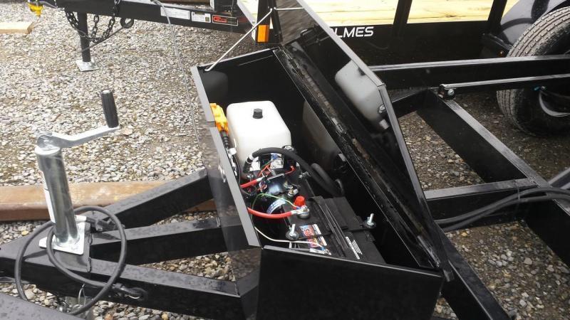 2019 Sure-Trac 5x8 Low Profile Dump Trailer