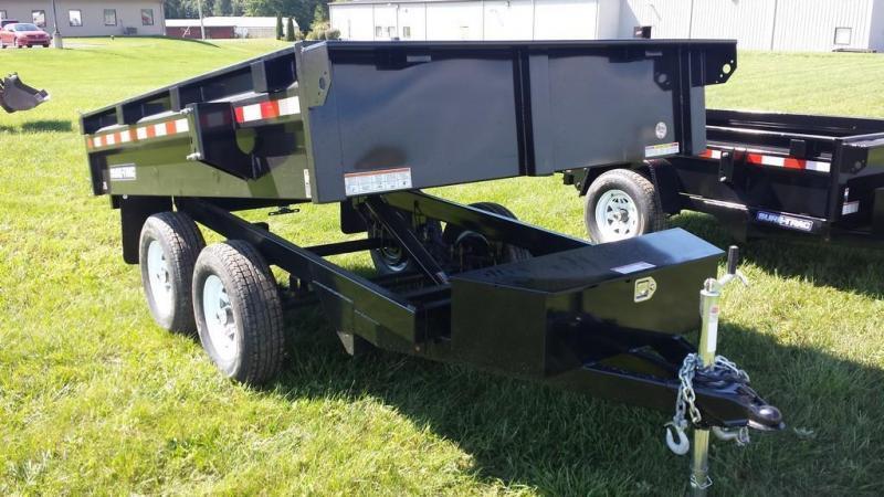 2018 Sure-Trac 6x10 Deckover Dump Trailer