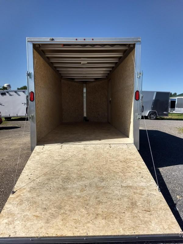 2019 EZ Hauler 7x16 7K Aluminum Enclosed Cargo Trailer