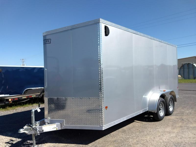 2019 EZ Hauler 7x16 7K Aluminum Enclosed Cargo Trailer in Ashburn, VA