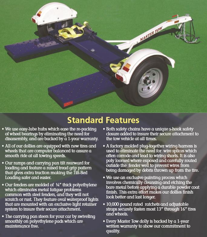 2018 Master Tow 80 THDEB Tow Dolly
