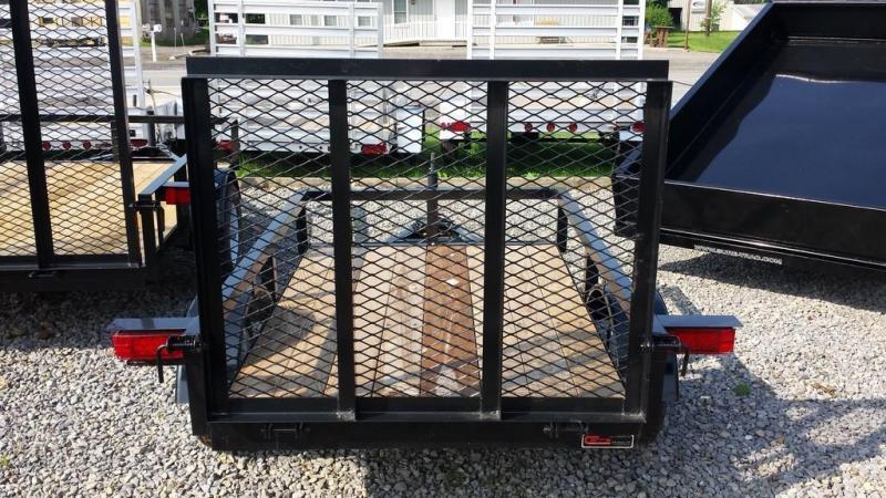2018 Holmes 4x6 Rail Side Utility Trailer
