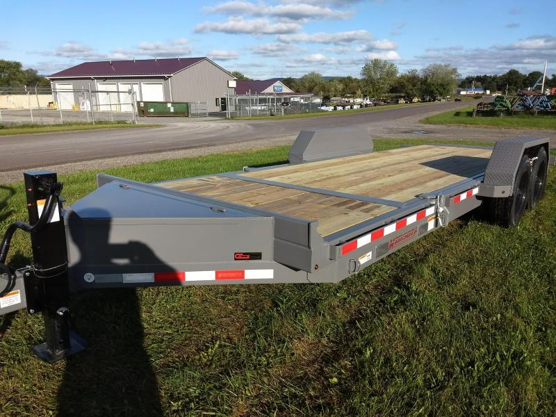 2019 Midsota 7x18+4 17.6K tilt deck Equipment Trailer in Groveton, NH