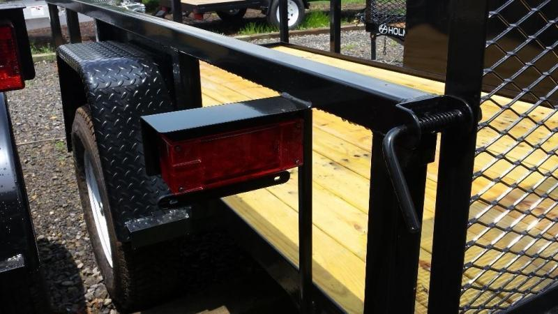 2018 Holmes Commercial 5x10 utility trailer