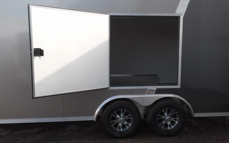 2018 EZ Hauler 8x24 10K Aluminum Car / Racing Trailer