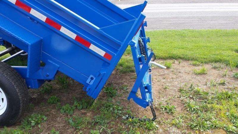 2019 Sure-Trac 6x12 low profile dump trailer -10k -ramps -combo gate