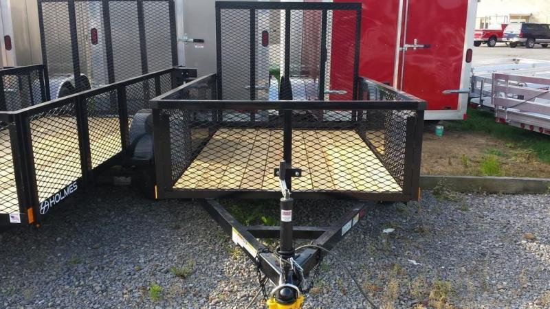 2018 Holmes 5x8 Commercial Mesh Side Utility Trailer ...