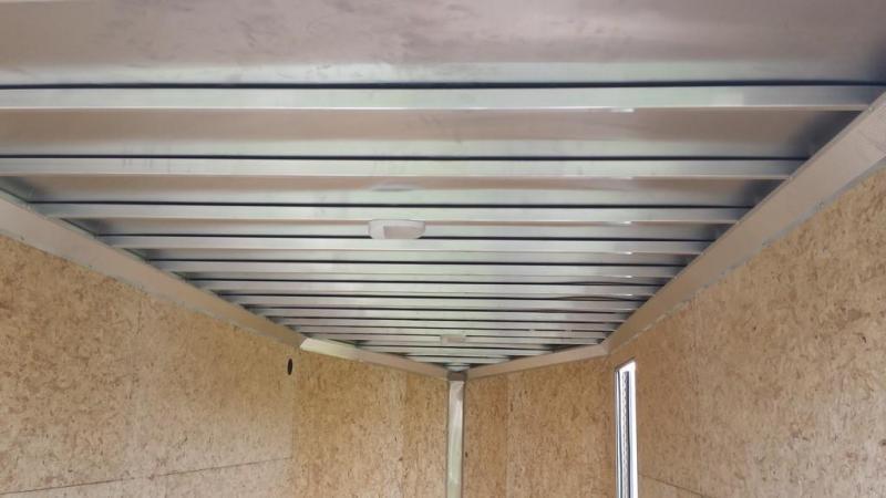 2018 Mission 7x14 all aluminum Enclosed Contractor Trailer