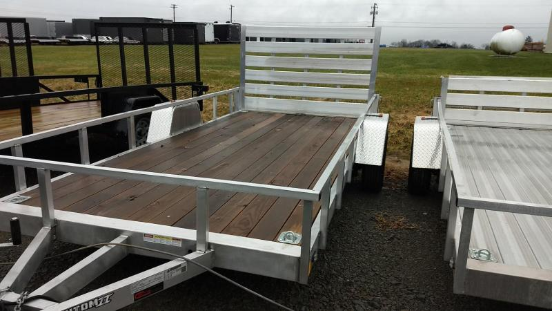 2019 Stealth Trailers 6-5x14 Alum Open Deck Rail Utility Trailer in Ashburn, VA