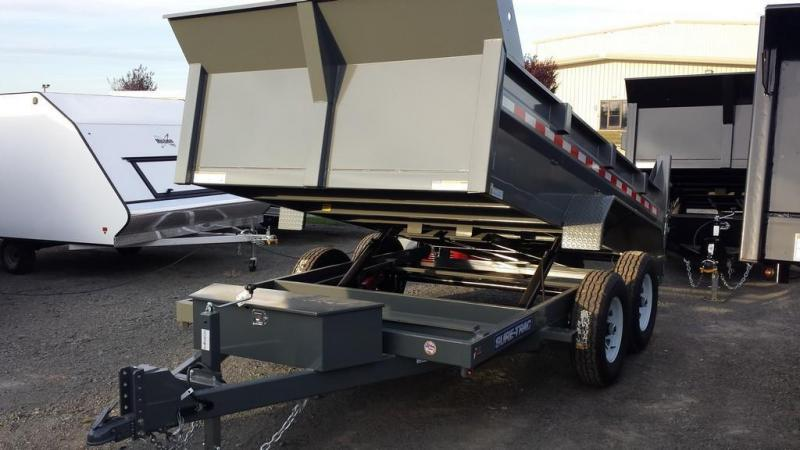 2018 Sure-Trac 7x12 Low Profile Dump Trailer