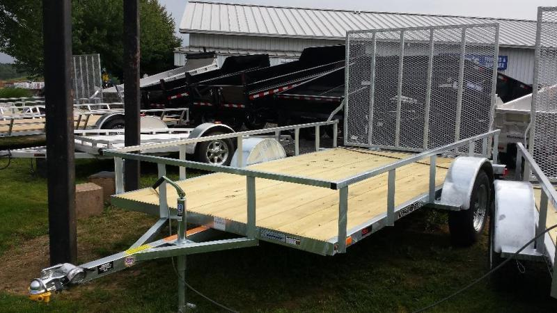 2018 Load Rite 6.5x12 Galvanized Open Side Utility Trailer in Ashburn, VA