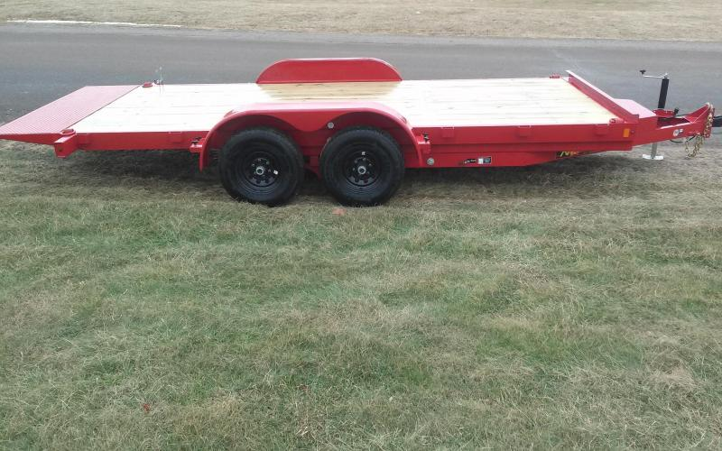 2018 Midsota 7x16 Nova 10K Tilt Equipment Trailer
