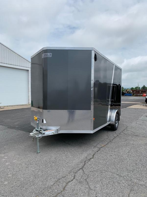 2019 Mission 7.5x12 EZ Hauler Enclosed Cargo Trailer in Ashburn, VA