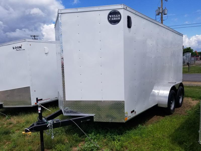 2018 Wells Cargo 300 Series 7x14 Enclosed Cargo Trailer in Ashburn, VA