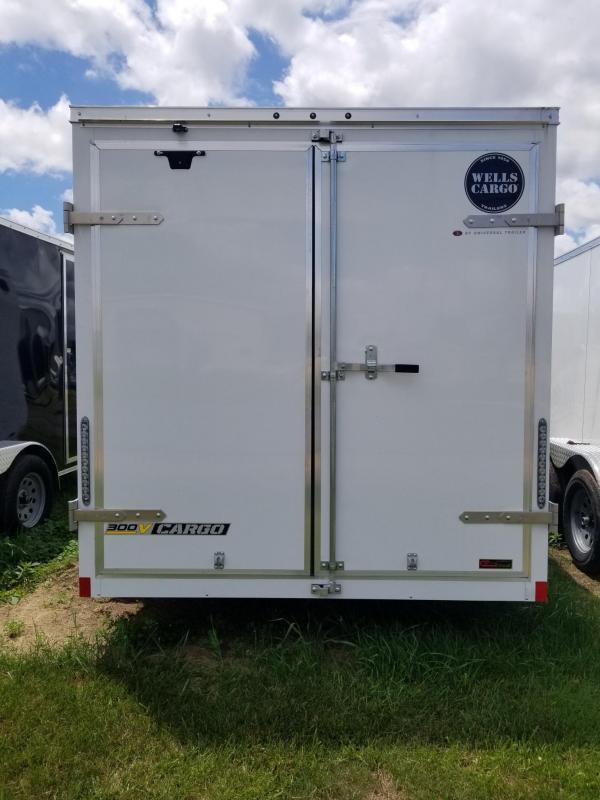 2018 Wells Cargo 300 Series 7x14 Enclosed Cargo Trailer