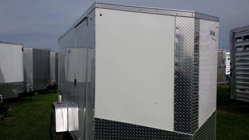 2017 Look Trailers 6x12 Element SE Enclosed Cargo Trailer