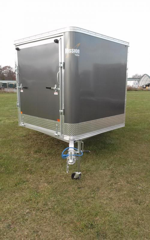 2018 Mission MES 101x12 DL Snowmobile Trailer