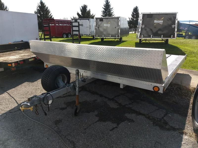 2010 Blaze 101x10 Open Snowmobile Trailer