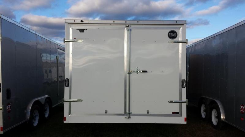 2016 Wells Cargo 8.5x16 Fast Trac Enclosed Cargo Trailer