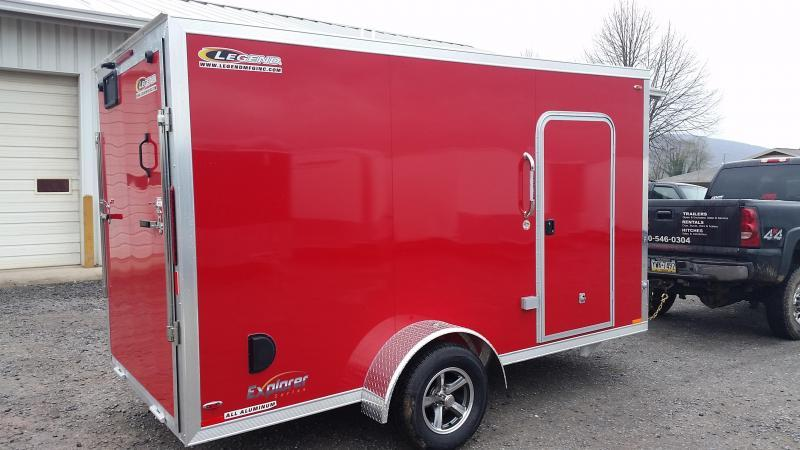 2018 Legend Manufacturing Explorer All Aluminum 6x13 Enclosed Cargo Trailer